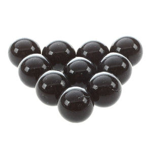 10 Pcs Marbles 16mm glass marbles Knicker glass balls decoration color nuggets toy black
