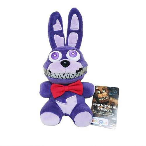 18cm Five Nights At Freddy's 4 FNAF Nightmare Bonnie Rabbit Plush Toys Soft Stuffed Animals Toys Doll for Kids Gifts