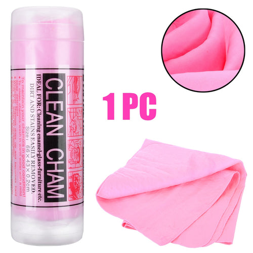 64*43cm Car Magic Washing Drying Cloth Cleaning Chamois Leather Soft PVA Towel Wipes Clean Cham Quick Dry Towel
