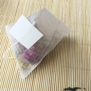 PLA Biodegraded Tea Filters Corn Fiber Tea bags Quadrangle Pyramid Shape Heat Sealing Filter Bags food-grade 55*70mm