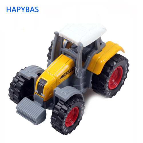 arrival Tractor toy Alloy Rural Truck Utility Terrain Vehicle Farm Alloy Tractor Truck Model Child Metal Model Farm Vehicles