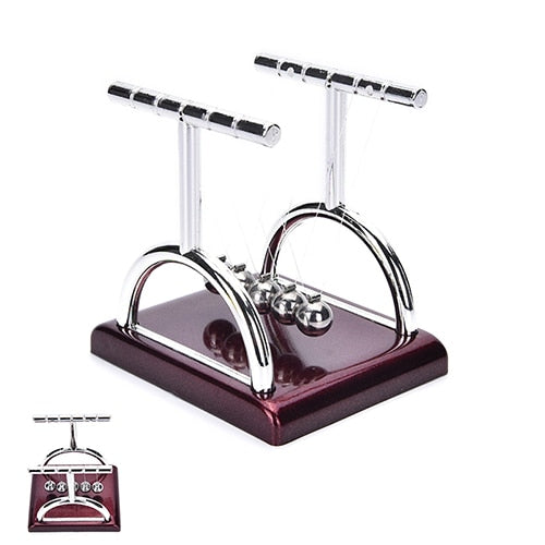 Newtons Cradle Steel Balance Ball Fun Decoration Physics Science Toy Gift