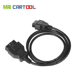 OBD2 16Pin Extension Cable 1.5m OBD II Connector Adapter Car Diagnostic Tool For Launch IDIAG Easydiag Mdiag ELM327