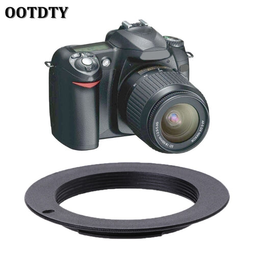 OOTDTY M42 Lens to For NIKON AI Mount Adapter Ring for NIKON D7100 D3000 D5000 D90 D700 D60