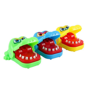 Original Mini Crocodile Jokes Mouth Dentist Bite Finger Game Joke Fun Funny Crocodile Toy Antistress Gift Kids Child Prank Toy