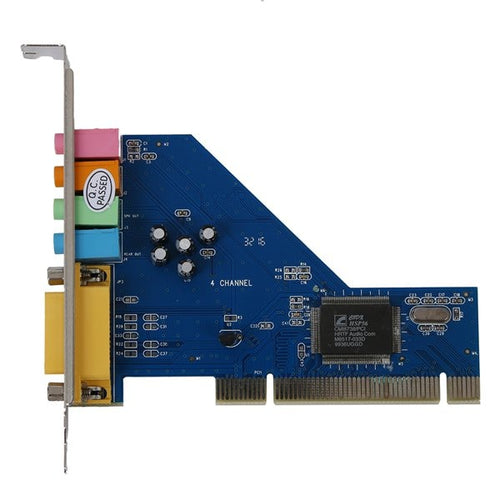 PROMOTION Hot 4 Channel 8738 Chip 3D Audio Stereo PCI Sound Card Win7 64 Bit