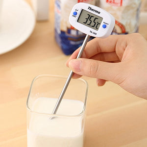 Pin Shape Digital Termometer Instant Read Digital LCD Food BBQ Meat Chocolate Oven Cooking Probe Thermometer