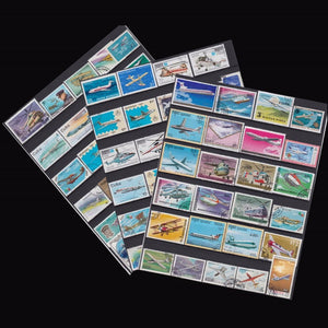 Plane Fly 50 PCS / lot all different  Topic Plane Unused Postage Stamps With Post Mark For Collecting postal stampel  World
