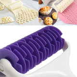Plastic Baking Tool Pull Net Wheel Knife Pizza Pastry Lattice Roller Cutter Bakeware Embossing Dough Kitchen Accessories