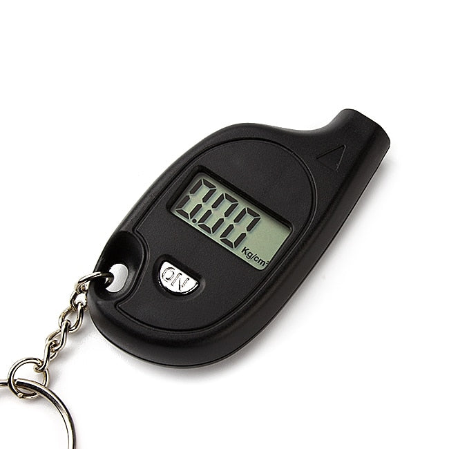 LEEPEE Portable Digital Car Tire Pressure Tester Auto Tyre Air Meter Gauge LCD Display Procession Tool 3-150 PSI Safety