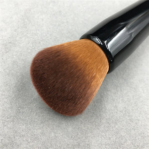 Powder Makeup Brush Wood Handle Dense Soft Round Bristle Full Coverage Face Powder Brushes Blush Contour Brush Make up Tool