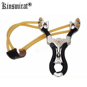 Powerful Aluminium Alloy Slingshot Outdoor Hunting  Sling Shot Catapult Camouflage Bow Catapult Camping Travel Kits