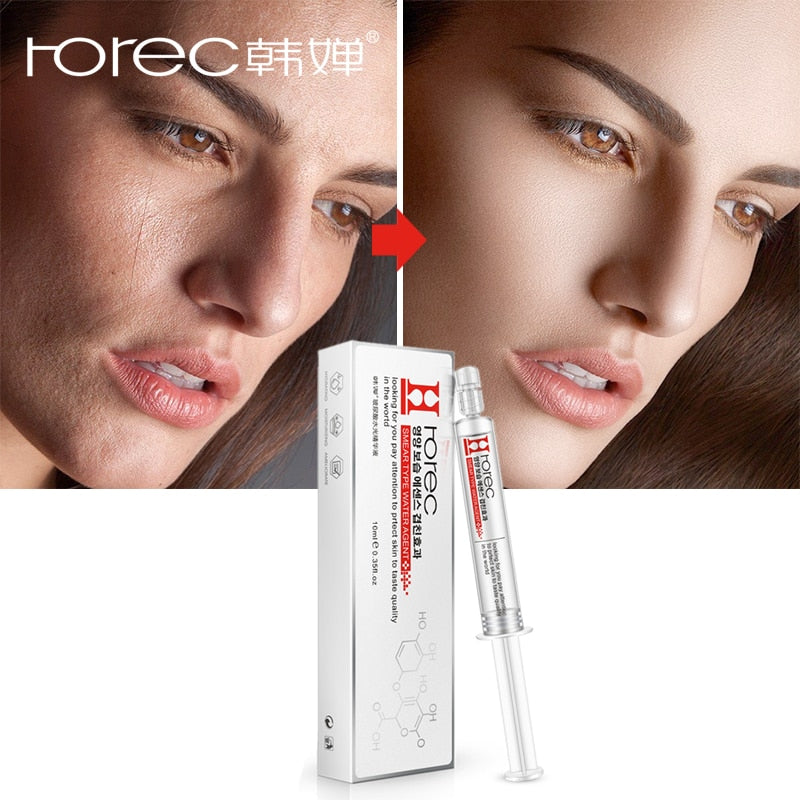 ROREC Face Serum Hyaluronic Acid Liquid Tights Anti-Wrinkle Anti Aging Collagen Facial Essence Moisturizing Whitening