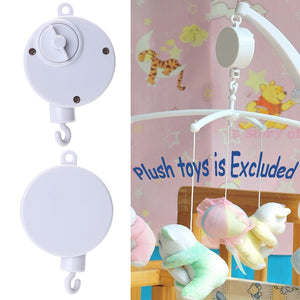 Rotary Baby Mobile Crib Bed Toy Melodies Song Kids Mobile Windup Bell Electric Autorotation Music Box Baby Educational Toys