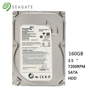 "Seagate Brand 160GB Desktop PC 3.5""HDD  2GB/s Internal Hard Drive 8MB-16MB Buffer Hard Disk Hardisk HD 7200RPM"