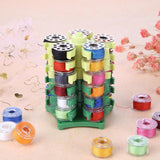 Sewing Bobbins Storage Rack Embroidery Bobbins Tower Storage for 30 Bobbins Holder Sewing Thread Spools Organizer Accessories
