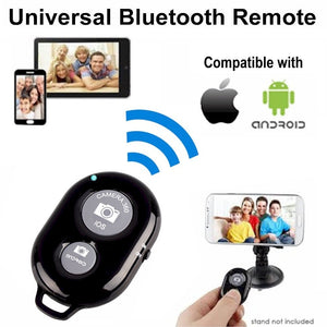 Shutter Release button for selfie accessory camera controller adapter photo control bluetooth remote button for selfie