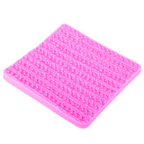 Sweater Fabric Knitting Texture  Biscuits Embossed Pad Decorating Lace Mat Tool Silicone Molds Fondant Cake Decorating FT-1117
