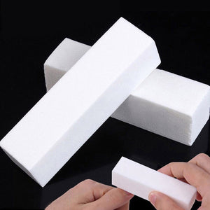 TOP 10Pcs/set Nail Art Buffer File Block Dead Skin Remover Sponge Sanding Buffing Nail File Polish Tools Nail Manicure Pedicure