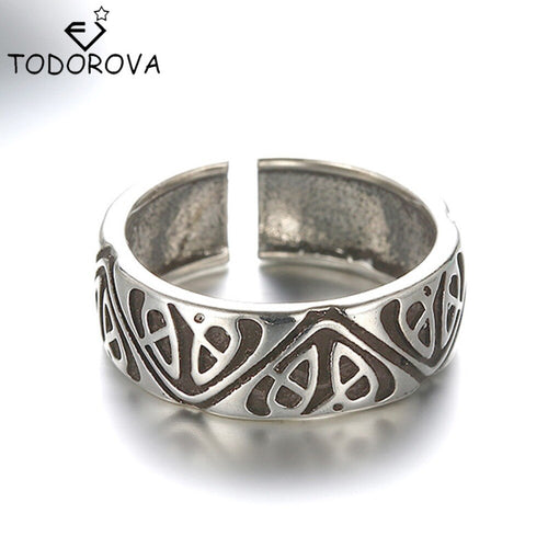 Todorova Personalized Vintage Wedding Band Toe Rings      Adjustable Open Rings Tail Pinky Finger Ring