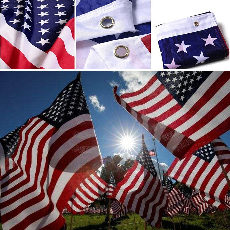Usa National Flag 90 150cm The United States American National Flag Fe Bargain Industries