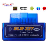 V2.1 ELM 327 OBD2  Elm327 Bluetooth Adapter Cord Reader Scan Tool  Elm-327 Car Diagnostic Scanner OBD 2 II Auto Diagnostic Tool