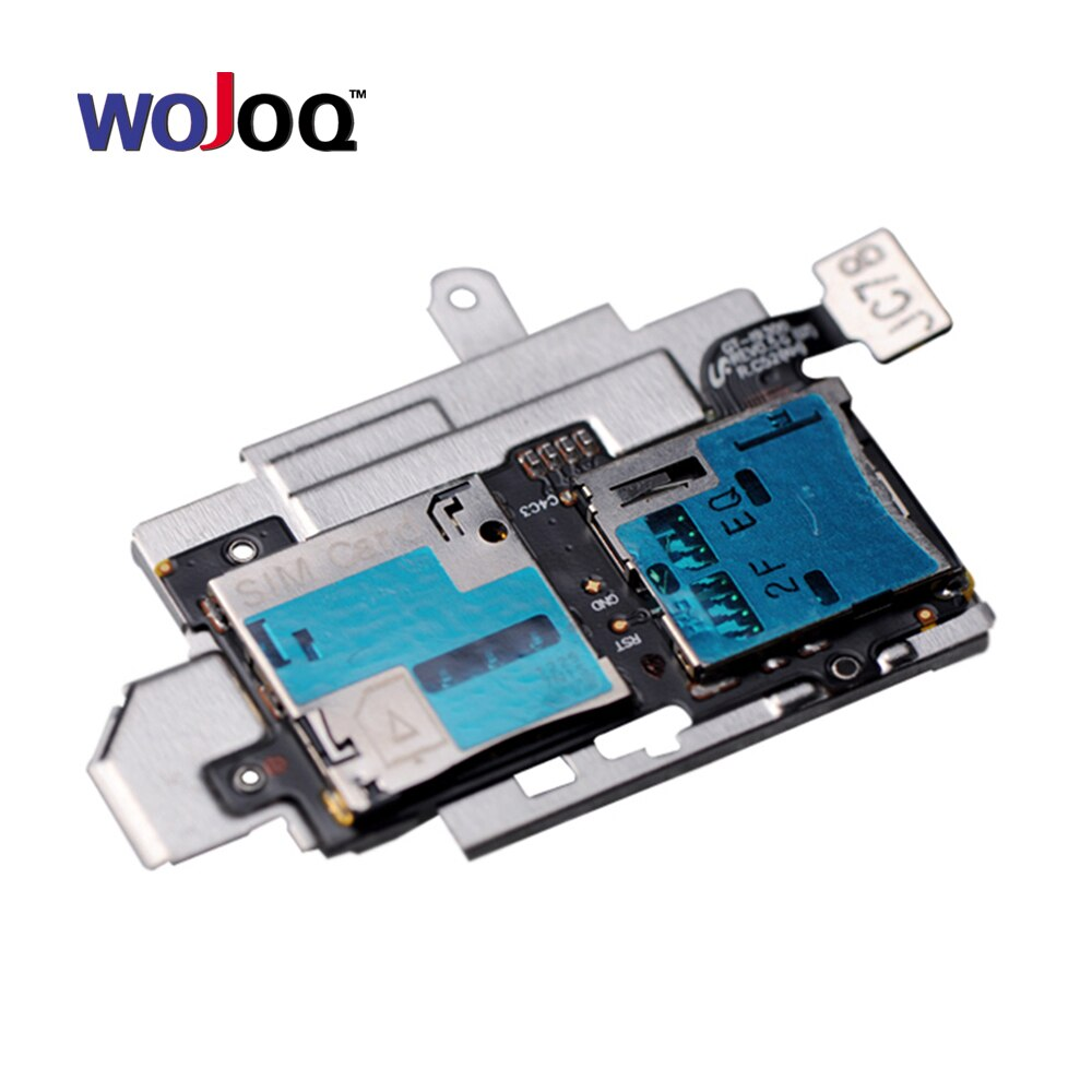Original For Samsung S3 I9300 T999 i747 SIM Card Slot SD Card Tray Reader Holder Socket Flex Cable Replacement Repair