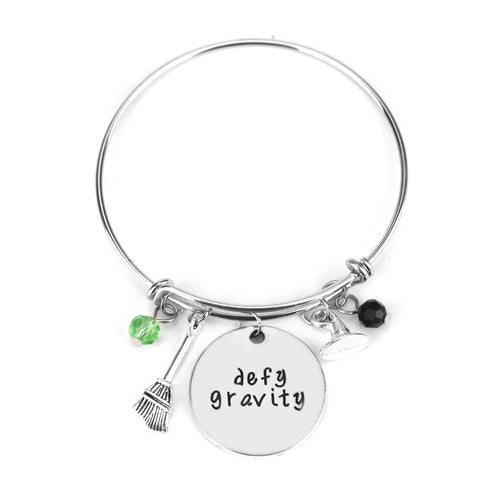 Wicked the Musical Inspired Bangle Bracelet