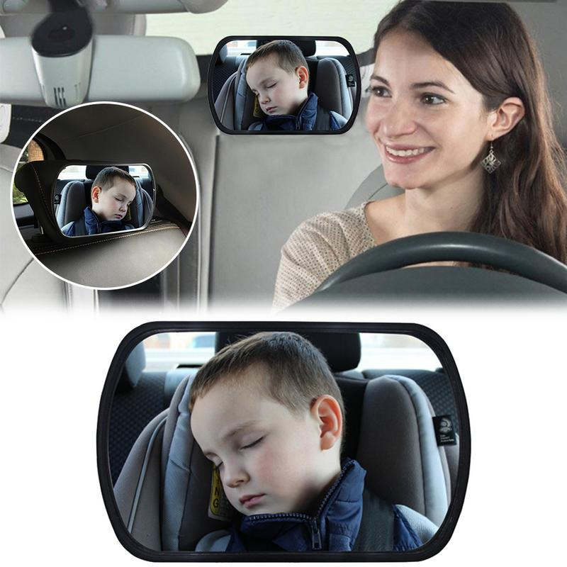 Car Seat Accessories Baby Child Seat Back Mirror Wide View ...