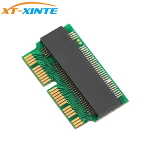 XINTE M.2 PCIe X4 NGFF AHCI 2280 SSD 12+16Pin Adapter Card as SSD for MACBOOK Air 2013 2014 2015 A1465 A1466 Mac Pro A1398 A1502
