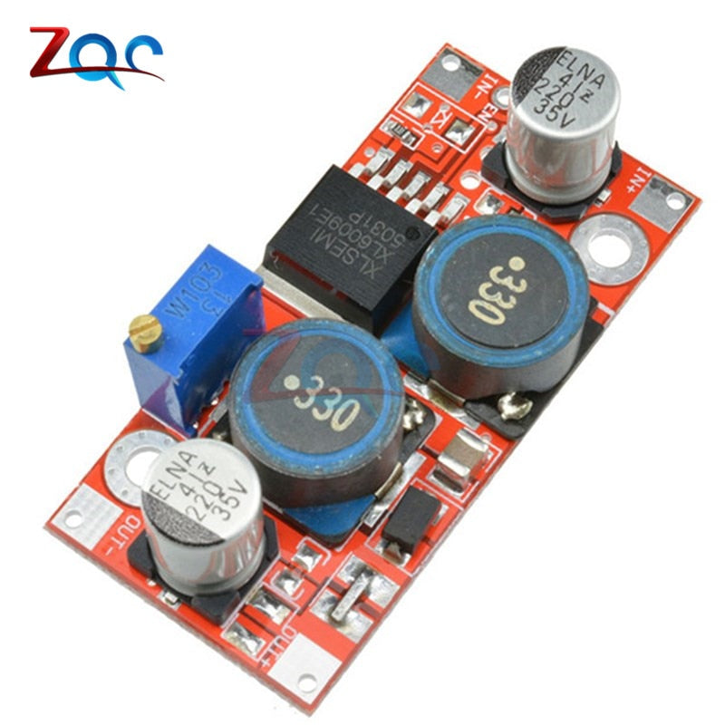 XL6009 DC-DC Step Up Step Down Boost Buck Power Supply Module 3.8-32V To 1.25-35V Voltage Regulator Converter
