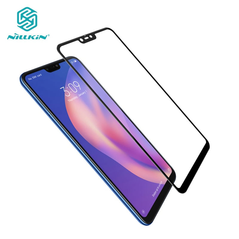 For Xiaomi Mi 8 Lite Tempered Glass Nillkin CP+ 2.5D Full Cover Screen Protector Glass for Xiaomi Mi8 Lite Mi 8 Lite