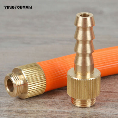 YINGTOUMAN Outdoor Gas Stove Adapter Safe Switching Valve Adapter Connect LPG Liquefied Gas Cylinder
