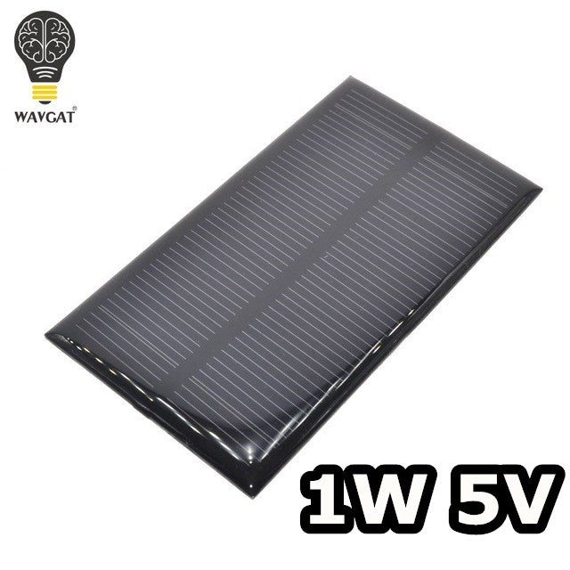smart electronics Solar Panel 1W 5V electronic DIY Small Solar Panel for Cellular Phone Charger Home Light Toy etc Solar Cell