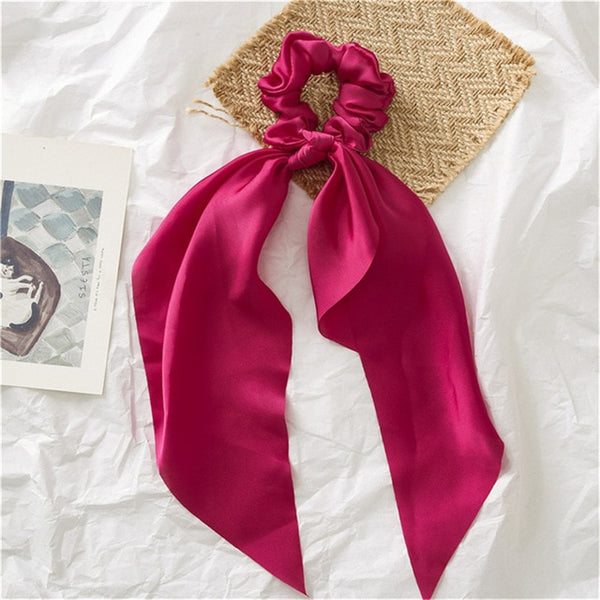 Yoga Style Scrunchies Horsetail Ties