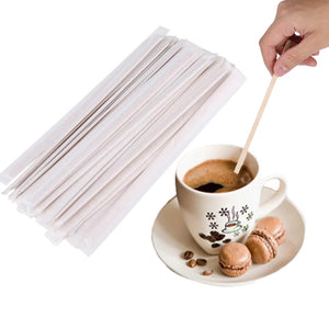 Disposable Coffee/Tea Stir Sticks (200 PCs)