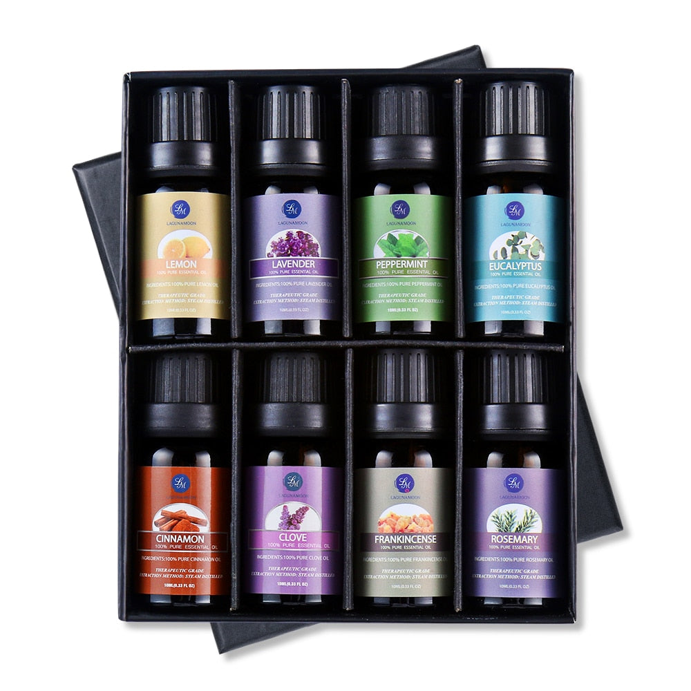 10ML Gift Set Pure Essential Oils for aromatherapy