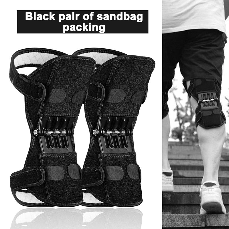 Non-Slip Power Lift Knee Pads Rebound Spring Force Knee Booster Leg Protector