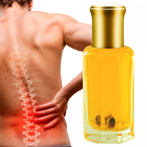 Bee venom oil for arthritis rheumatism pain