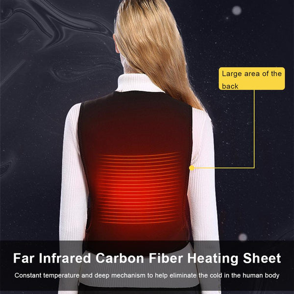 USB Electric Heating Horse Vest