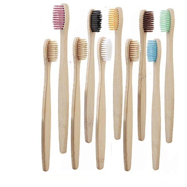 Bamboo Toothbrush Soft Bristle Healthy Hygiene Dental Oral Care