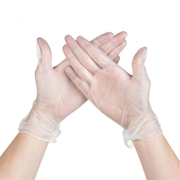 100 PCS Disposable Gloves Safety Latex