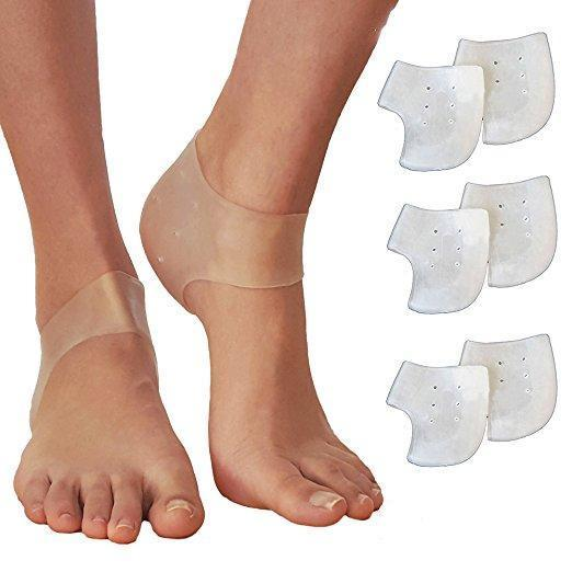 Silicone Moisturizing Gel Heel Socks - 70% OFF!