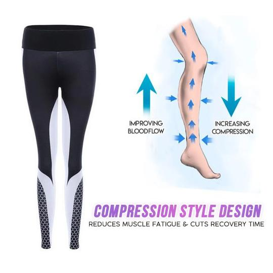 4D Breathable Compression Leggings