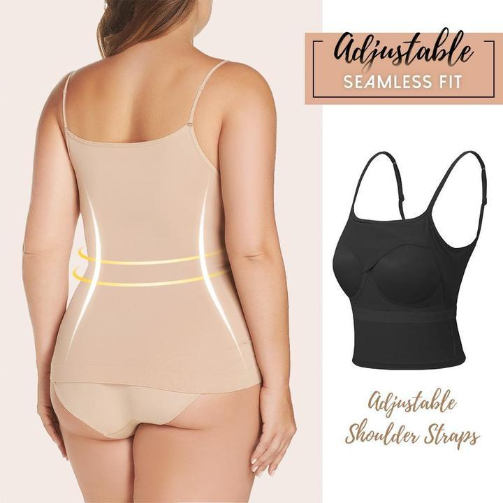 CamiBra -Slimming Cami Tank with Built-in Bra