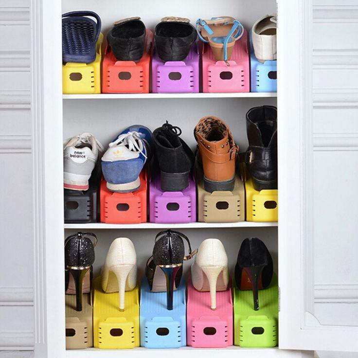 Double Deck Shoe Rack - 65% OFF!
