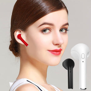 1 Pc Pearbud - Universal Bluetooth Headset With Mic