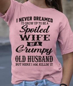 A Spoiled Wife Of A Grumpy Old Husband