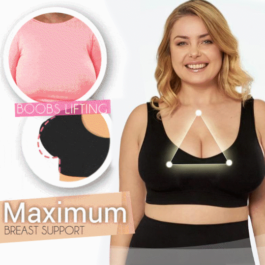 Plus Size Ice Silk Comfort Bra