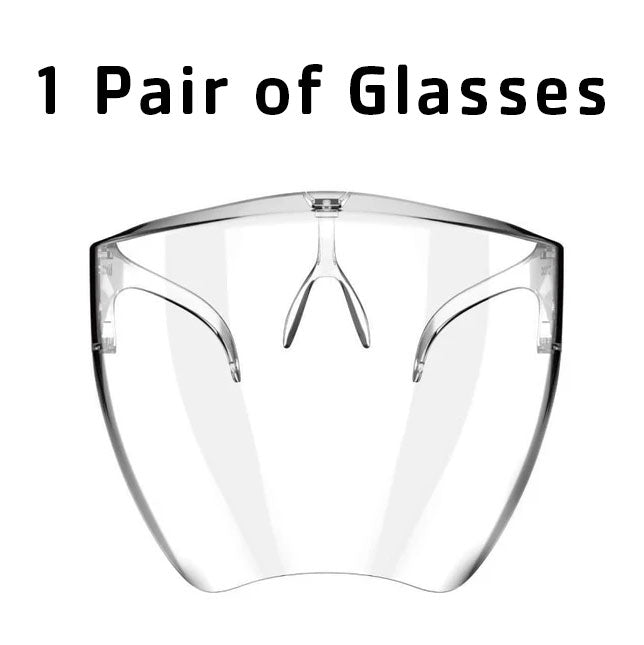 2021 NEW Fashion Style Transparent Glasses